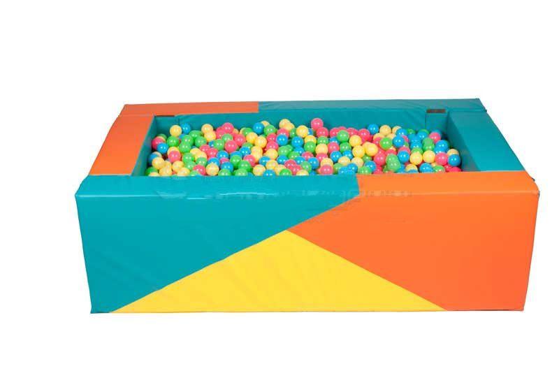 Квадратный сухой бассейн Спортивные Технологии 150х150х40х15 cм