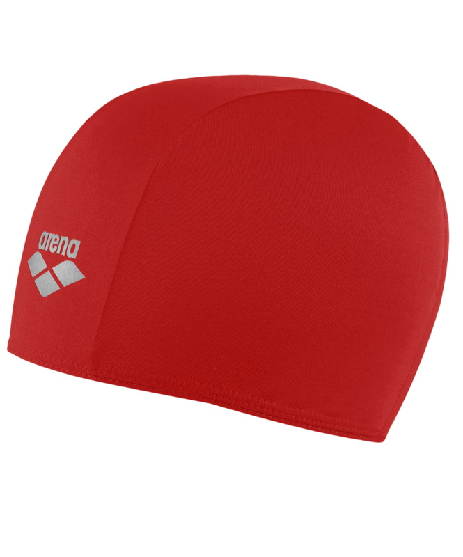 Купить Шапочка для плавания (полиэстер) Arena Polyester Jr Red (91149 49),
