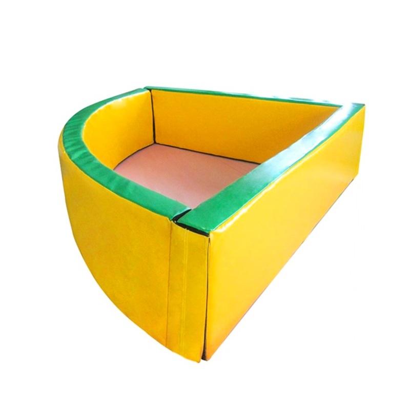 Купить Сухой бассейн угловой 1500х600х100 мм Dinamika ZSO-003034,