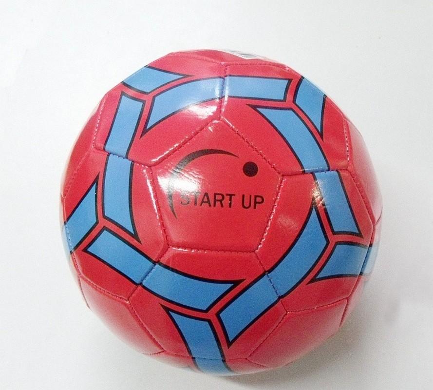 Мяч футбольныйStart Up E5120 красно-синий