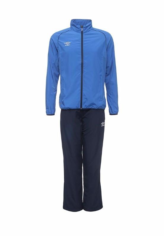 Костюм спортивный Umbro Light Woven Suit облегченный 460314 (791) син/т.син/бел.