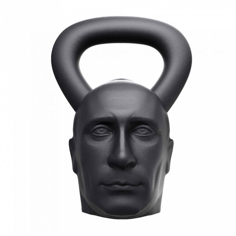 Гиря с характером Лидер 16 кг HeavyMetalSport KB-16-LEADER гиря с характером демон 16 кг original fit tools kb 16 demon