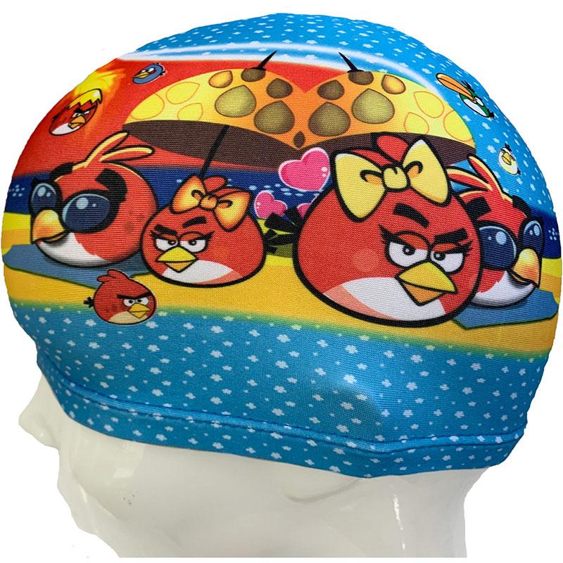 Купить Шапочка для плавания детская текстиль B27491-2, NoBrand