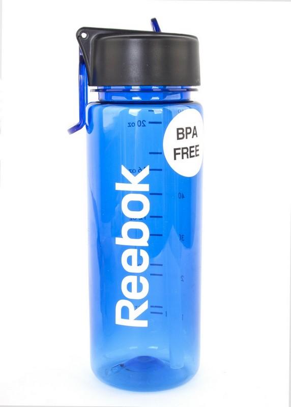 Бутылка для воды Reebok RABT-P65ВL 0,65 голубая