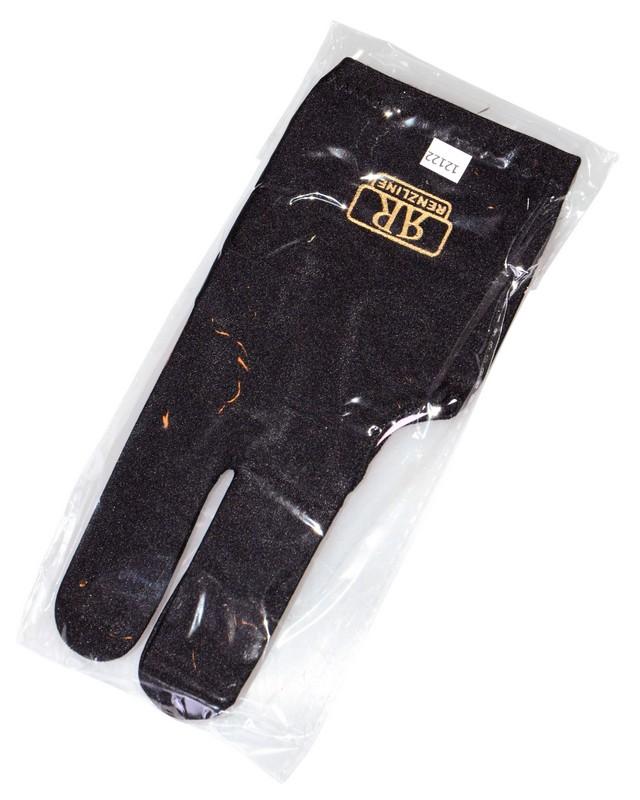 Перчатка бильярдная Longoni Renzline Start Black 45.300.03.5 черная фото