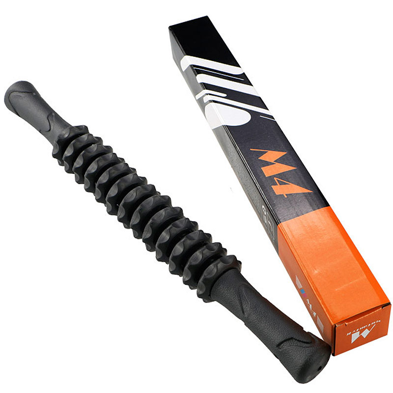 Ролик палка гимнастическая массажная Hawk М4 (черный) B31270-4 фото