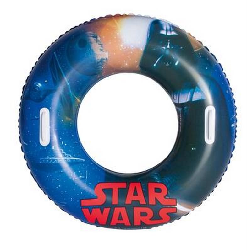 Круг надувной с ручками Bestway Star Wars 91см 91203