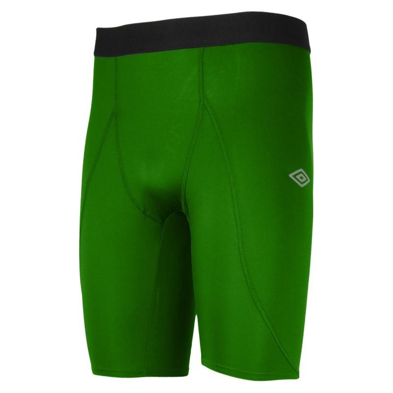Лосины Umbro Support Short короткие мужские 61475U (450) зеленые