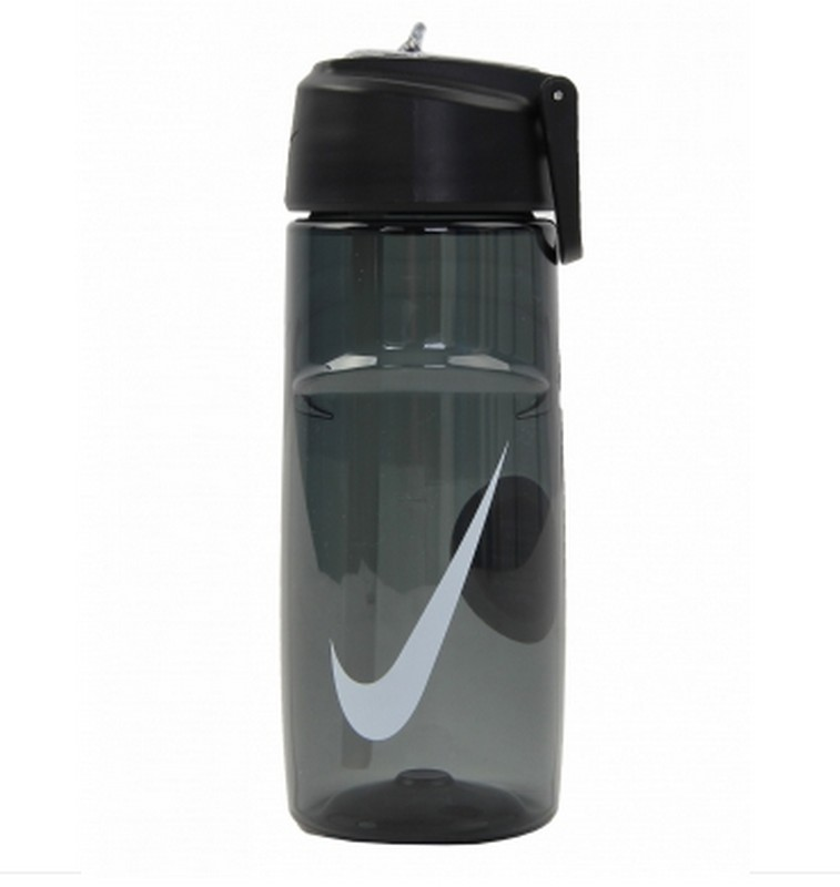Бутылка для воды Nike T1 Flow Graphic Water Bottle 16oz OSFM Anthracite/White 473мл nike nike sport water 590ml bottle