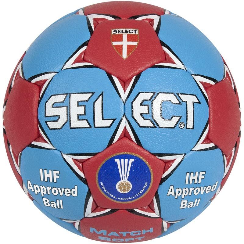 Мяч гандбольный Select Match Soft , Senior №3 (ПУ) IHF Approved мяч футзальный select futsal talento 11 852616 049 р 3