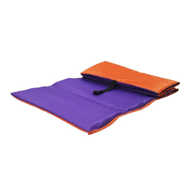 Коврик гимнастический Body Form BF-001 оранжевый-фиолетовый 150x50x1
