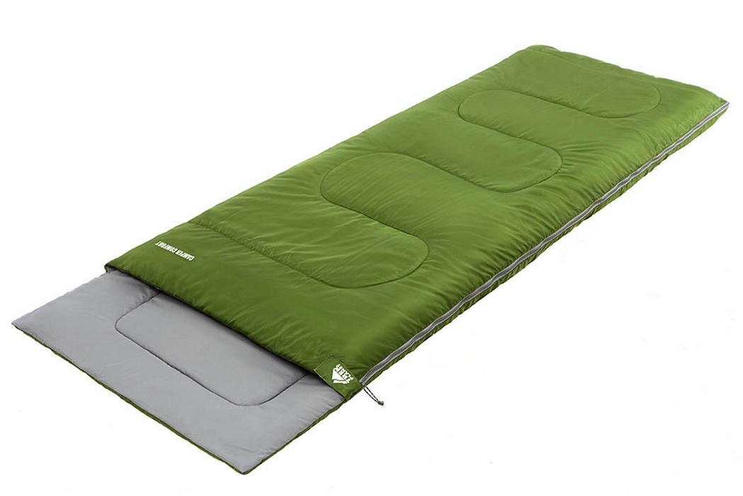 Спальный мешок Trek Planet Camper Comfort зеленый 70305-L 190x80см