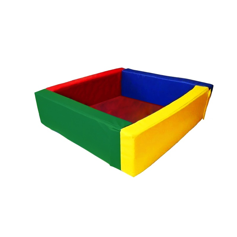 Купить Сухой бассейн квадратный 1500х1500х400х100 мм (наполнитель холлослеп/холлофайбер) Dinamika ZSO-003050, Сухие бассейны