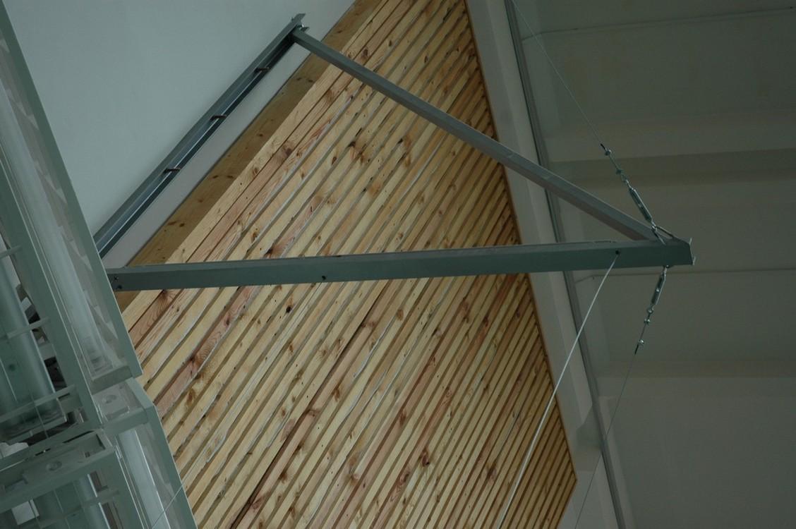 Купить Консоль настенная с блочной подвеской Atlet для гимнастических колец вынос 2м (для одной пары) IMP-A75,