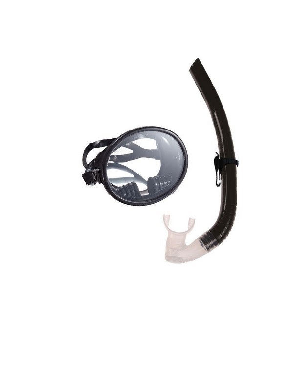 Купить Маска+трубка Wave Diving Mask and Snorkel Set Silicone MS-1332S66 black,