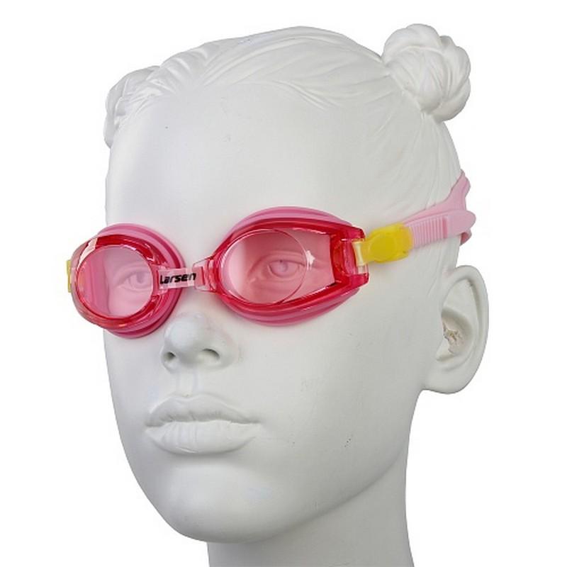 Очки плавательные детские Larsen DR5 очки плавательные larsen s41