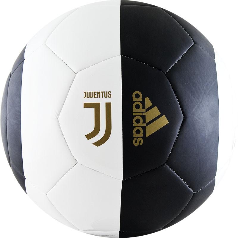 Купить Мяч футбольный Adidas Capitano Juve DY2528 р.5,
