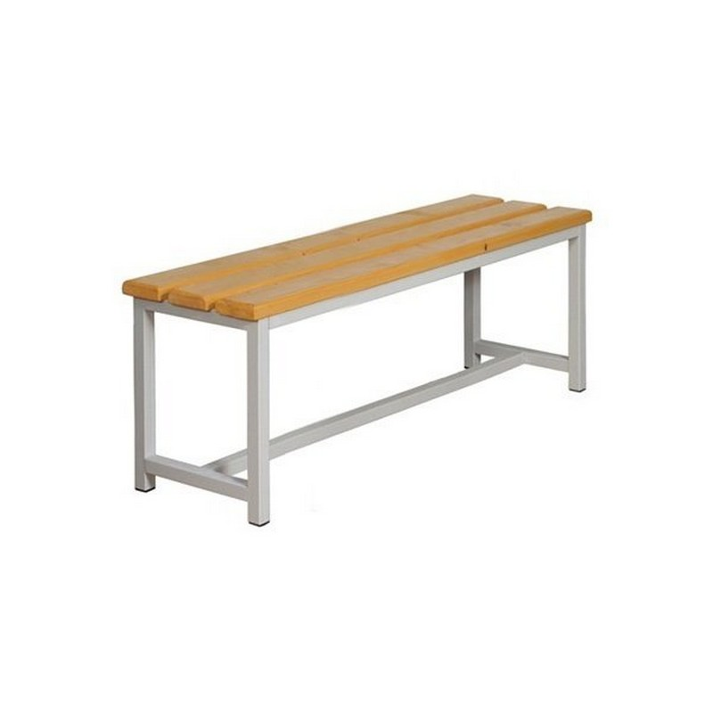 Скамейка для раздевалки без спинки и крючков 200х32 М764Г