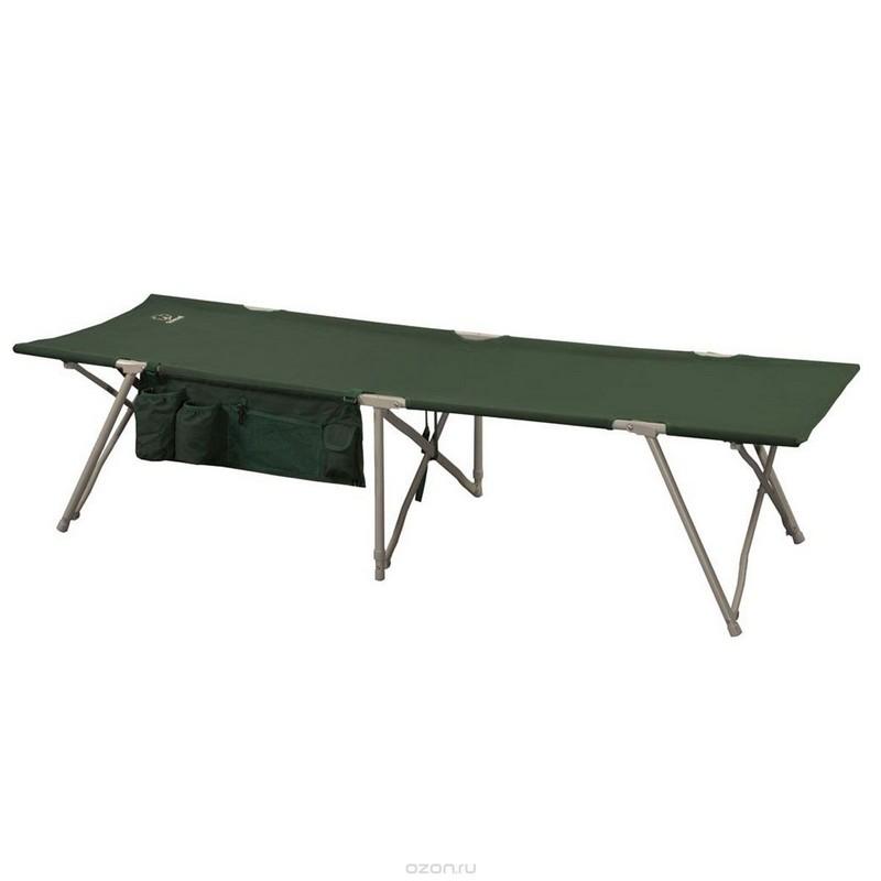 Кровать складная Greenell BD-3 зеленый