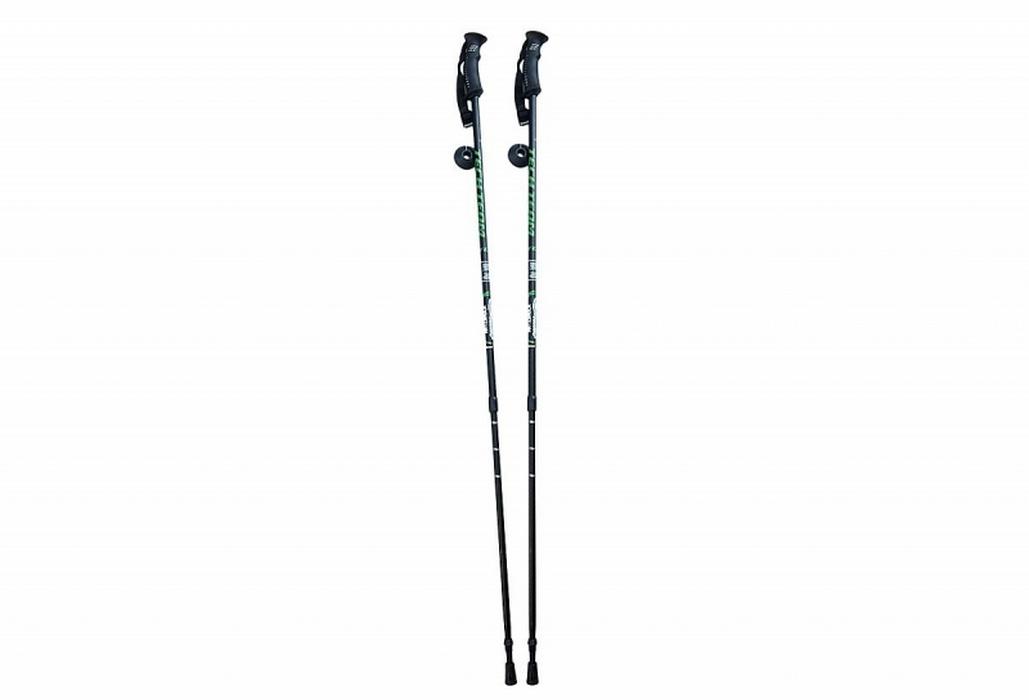 Купить Палки для треккинга Nordic раздвижные с резиновой ручкой (под пробку) 110-135 см GPH08974,