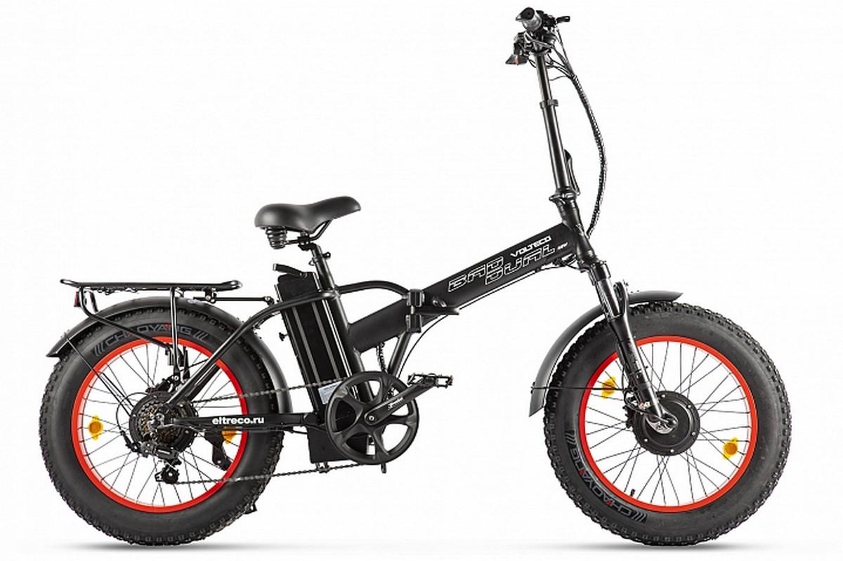 Велогибрид Volteco Bad Dual New 022561-2302 черно-красный