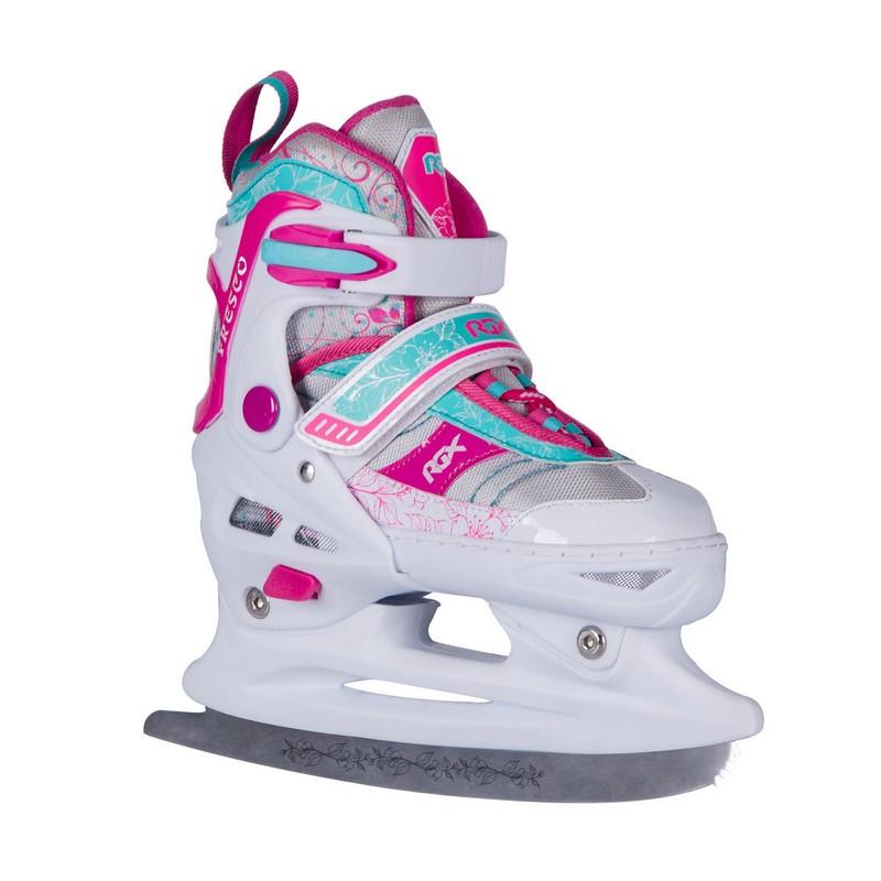Раздвижные коньки RGX Fresco Pink,  - купить со скидкой