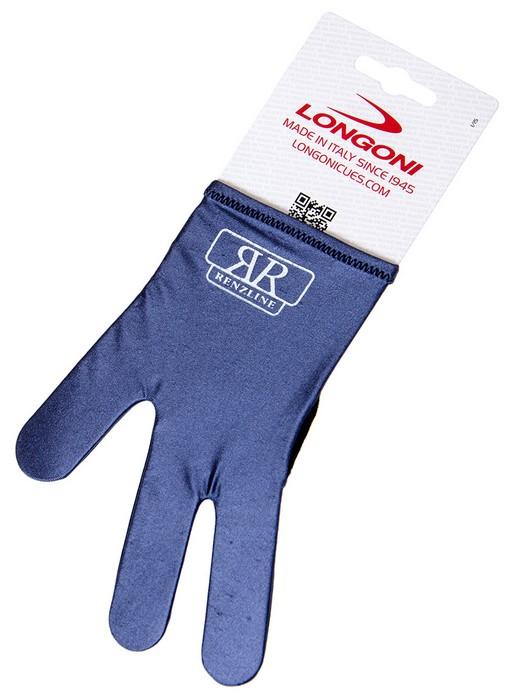 Перчатка бильярдная Longoni RenzLine Bicolor (серая) 45.302.03.2