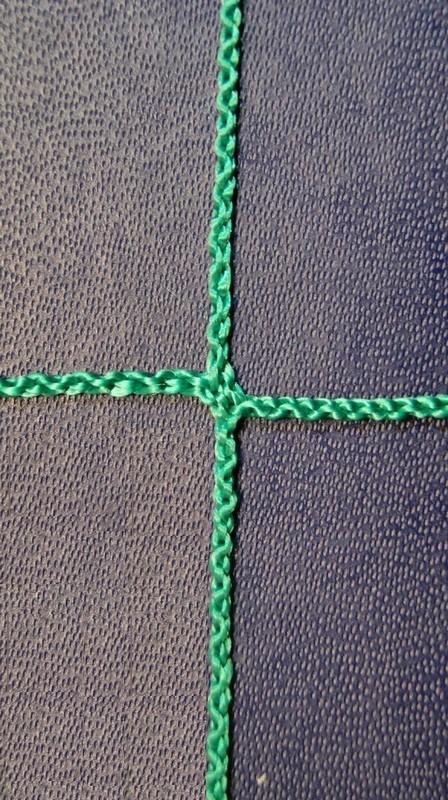 Купить Сетка заградительная, нить Д= 2,2 мм, ячейка - 100x100 мм Glav 9.206,