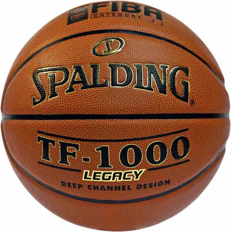 Мяч баскетбольный Spalding TF-1000 Legacy №7 (микрофибра) FIBA Approved