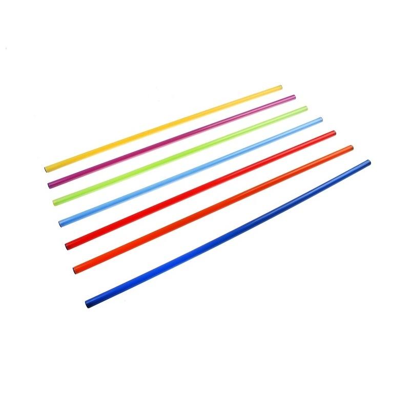 Купить Палка гимнастическая Алюминиевая крашеная 130 см Ellada М874,
