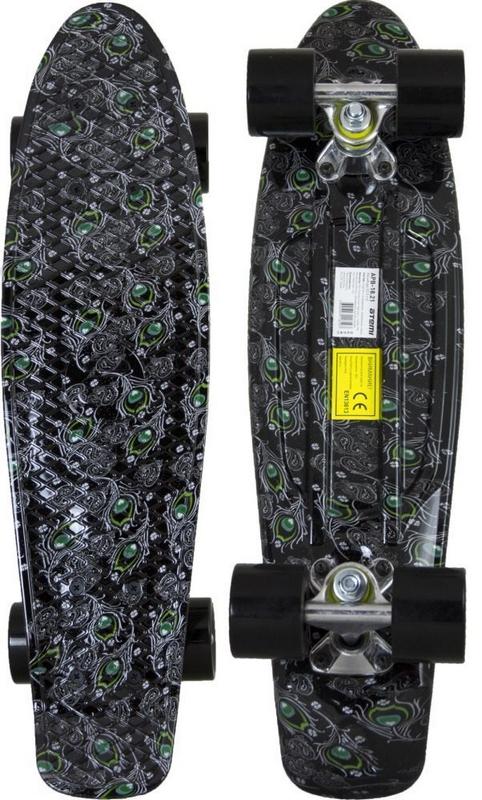 Миниборд Atemi APB-18.21 (22,5*6) скейт atemi волны apb 2 16