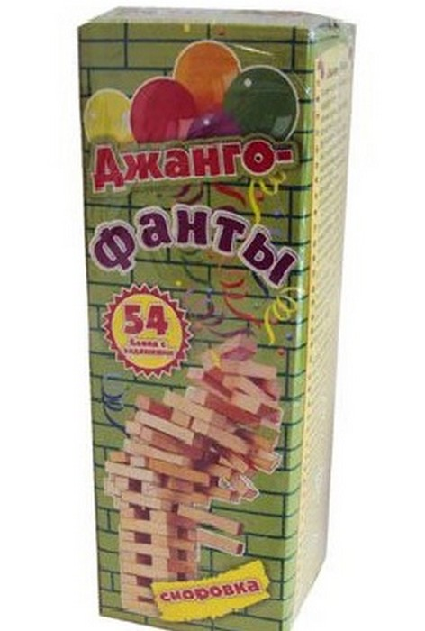 Настольная игра Дженга Фанты Сосенка малая zddfansosmini