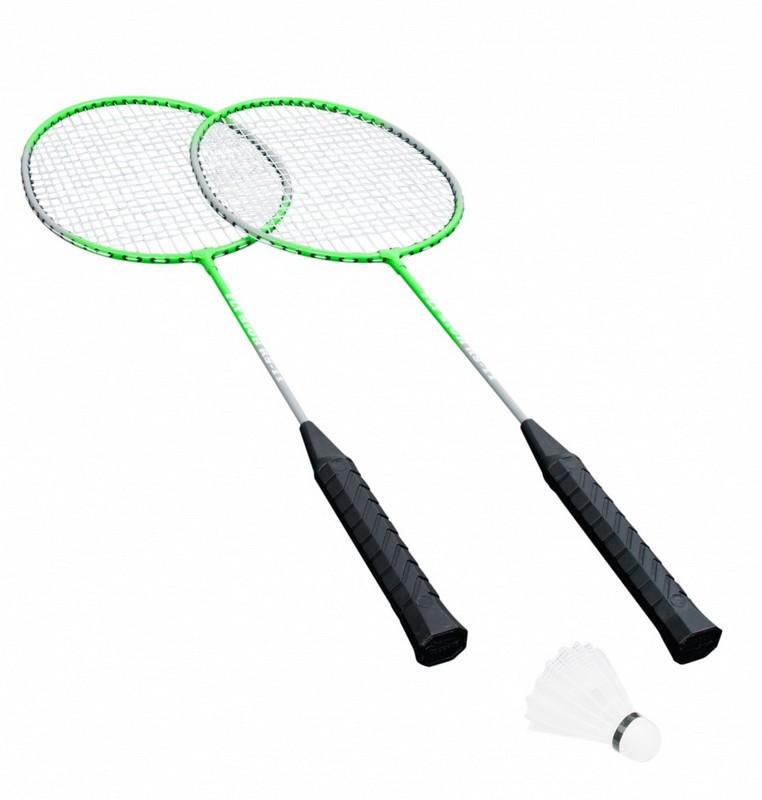 Набор для бадминтона Hudora Badmintonset No Limit HD-11 green спортивные игровые наборы hudora спортивный игровой набор