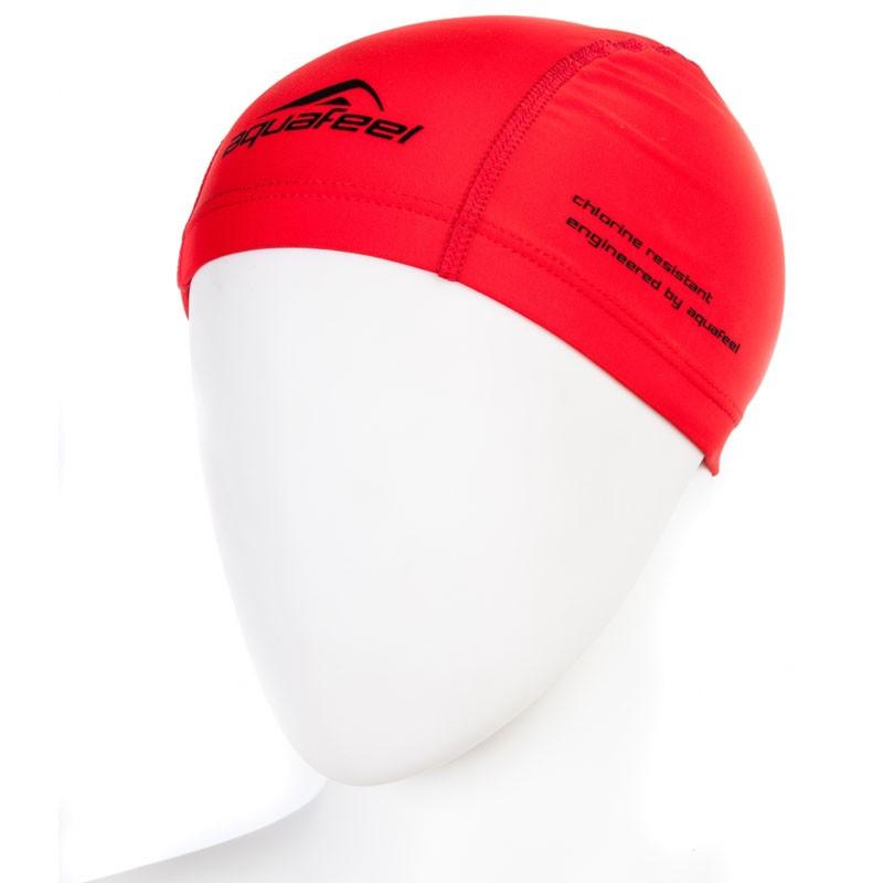 Купить Шапочка для плавания Fashy Training Cap AquaFeel 3255-40 полиамид/нейлон/эластан, красный,