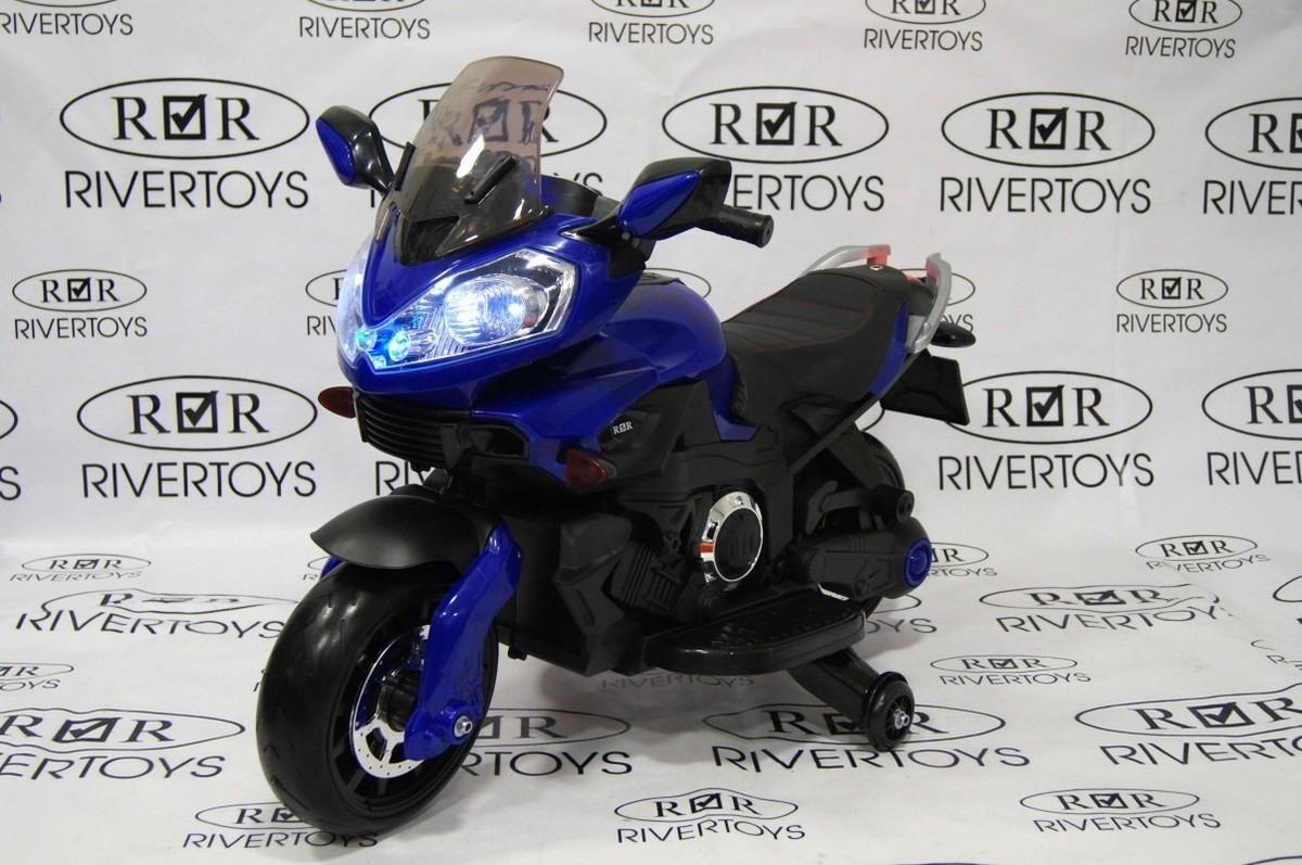 Mотоцикл River-Toys с эффектом дыма E222KX