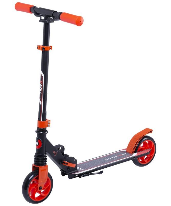 Купить Самокат 2-х колесный Ridex Vector 145 мм, красный,