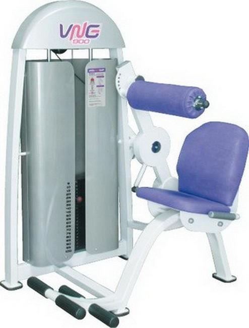Тренажер для мышц спины Vasil Gym В.911 сушка для посуды и продуктов ругес водосток цвет светло зеленый серый металлик