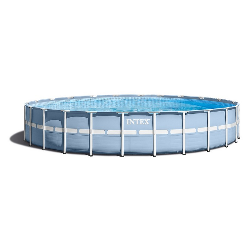 Бассейн каркасный на опорах 549х122 см Intex 28752 intex intex каркасный бассейн с металлическим ободком 366х76 см