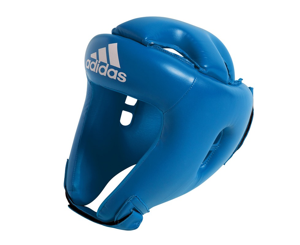 Шлем боксерский Adidas Competition Head Guard синий adiBH01