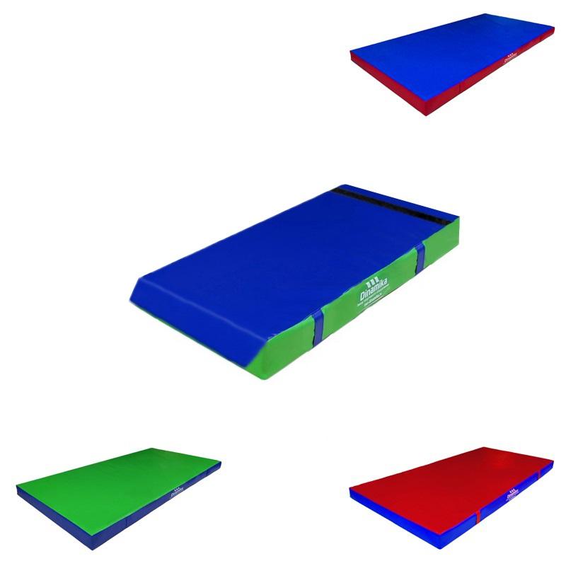 Купить Мат гимнастический 100х50х5см винилискожа-велькро (холлослеп/холлофайбер) Dinamika ZSO-001331,