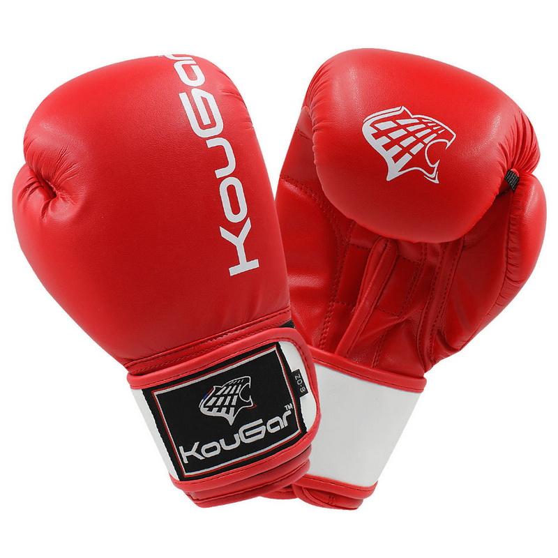 Купить Боксерские перчатки Kougar KO200-6, 6oz, красный,