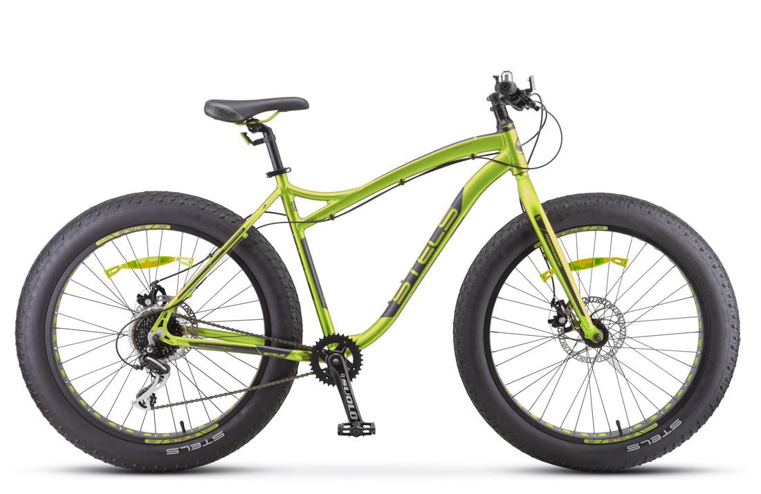 Купить Велосипед Stels Aggressor D 26 V010 Салатовый (FAT) 2019 (LU092497),