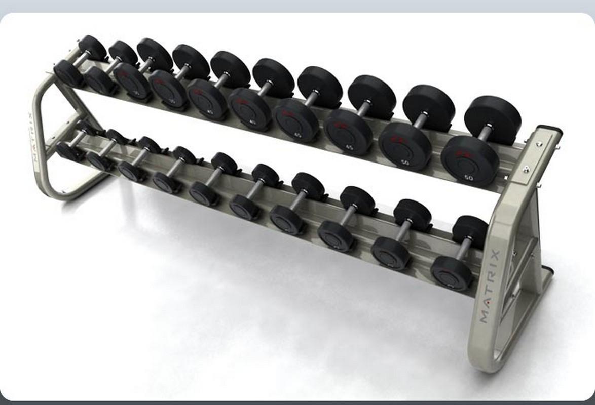 Подставка под гантели (10 пар) Matrix G3 FW91 подставка под гантельный ряд 5 пар matrix g3 fw90