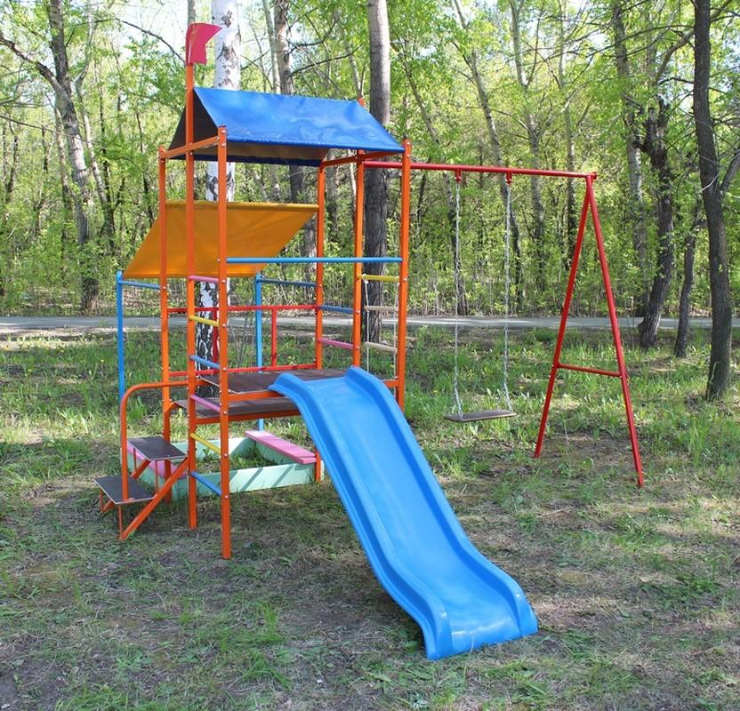 Купить Игровая детская площадка Plastep Башня без горки,