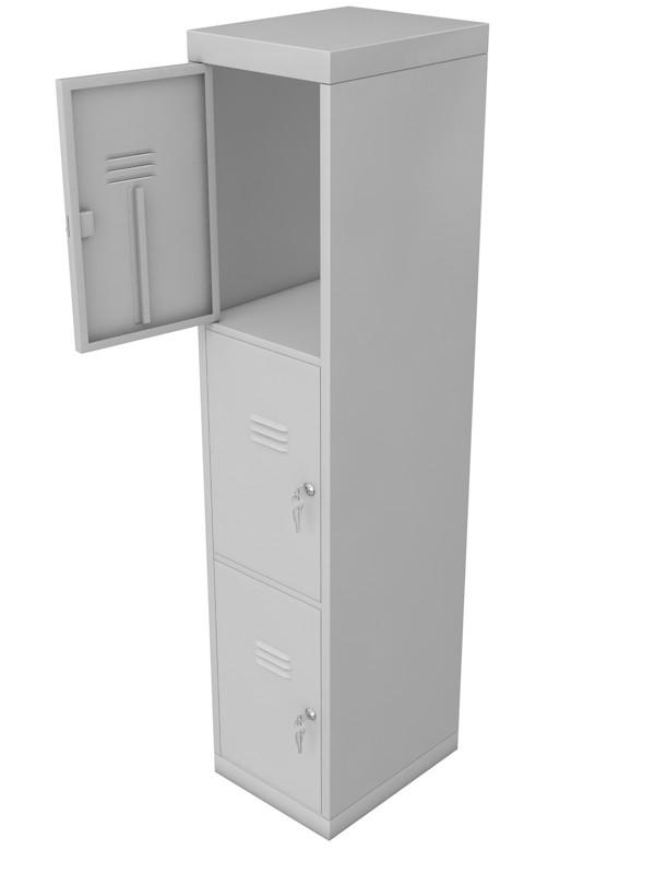 Шкаф для раздевалок металлический Glav 10.2.16