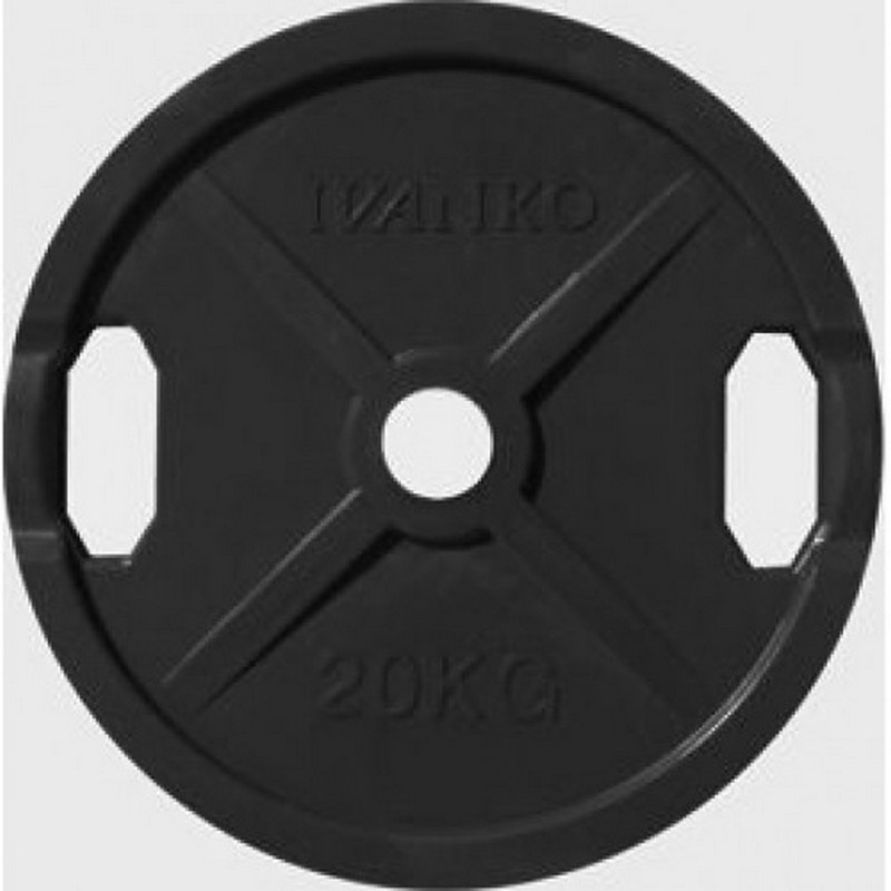 Купить Диск d51 мм Johns 20 кг DR71022 - 20B черный,