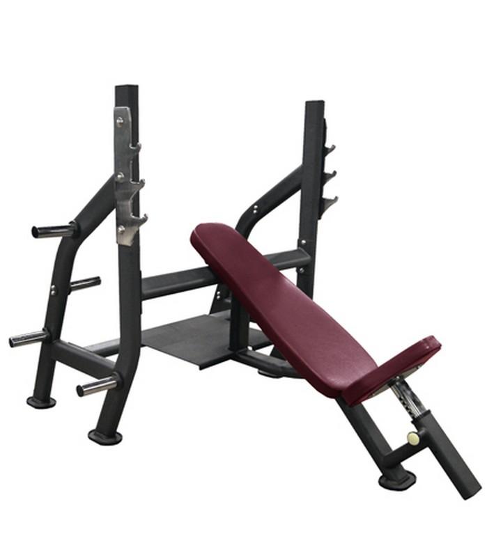 Олимпийская наклонная скамья Kraft Fitness KFOIB регулируемая скамья kraft fitness kffiuby
