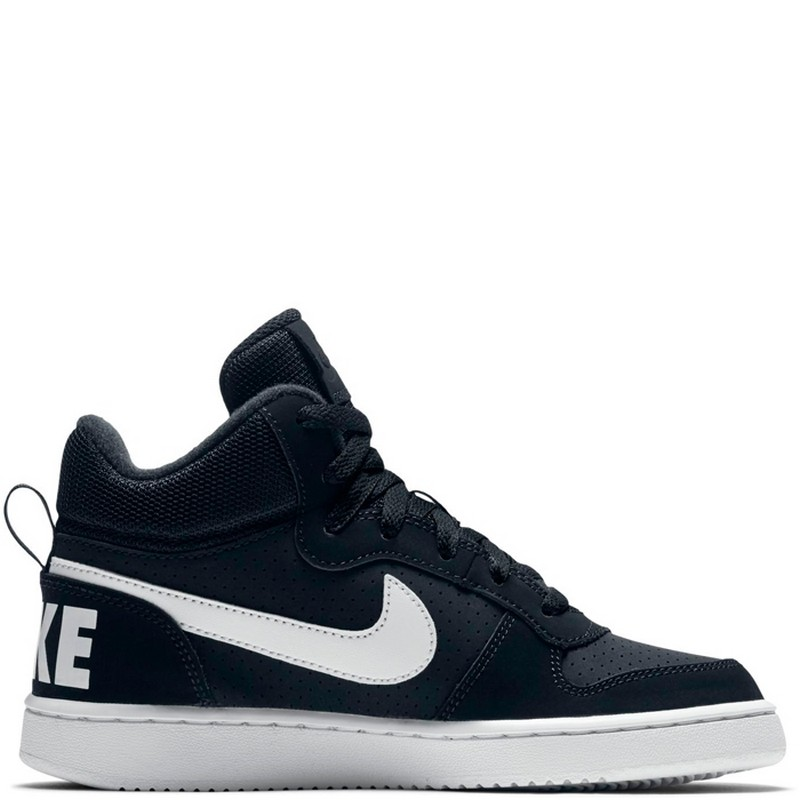 Кроссовки Nike Court Borough Mid GS Shoe Boys' 839977-004 сникеры nike сникеры wmns nike court borough mid