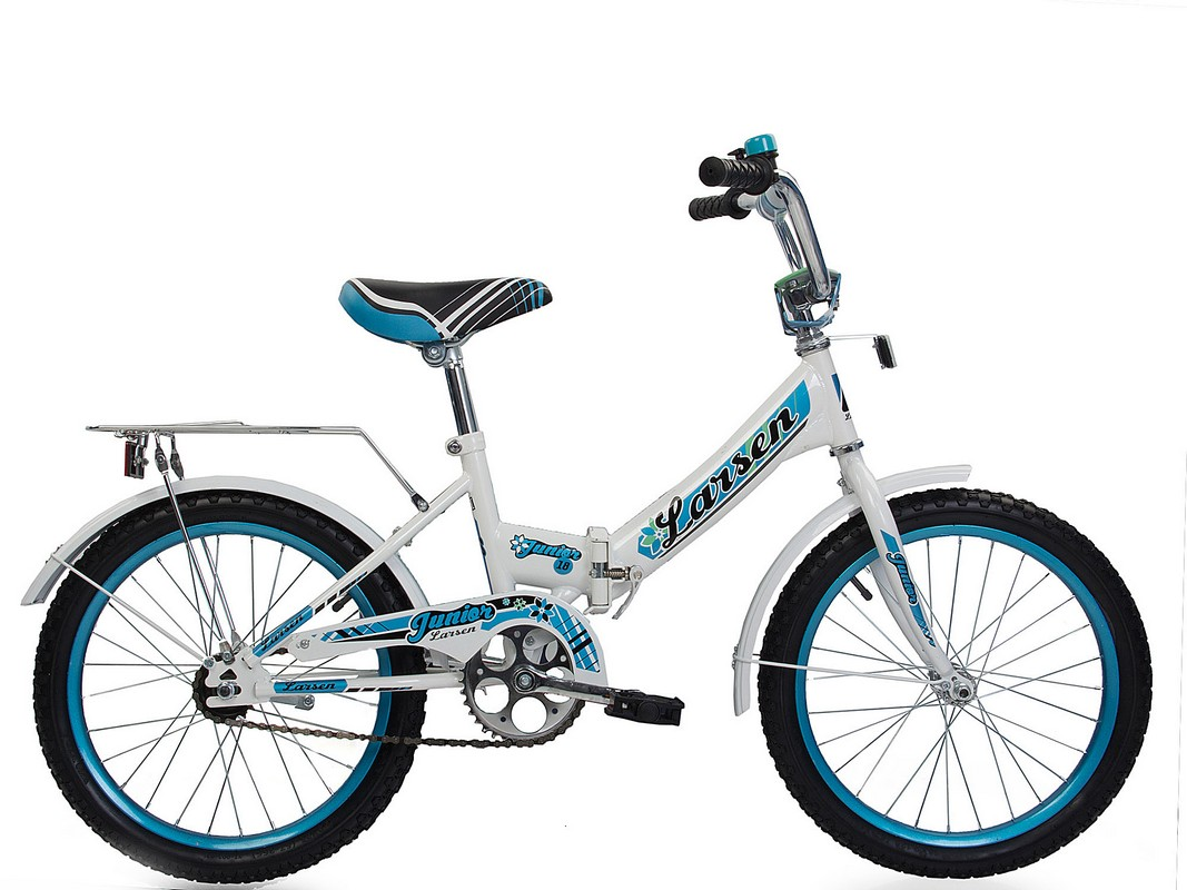 Велосипед Larsen Junior 18 quot; (16,18 quot;) велосипед larsen tourist черный белый cкладной