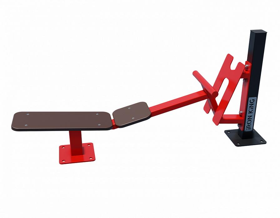 Купить Скамья для пресса уличный тренажер Iron King S302,